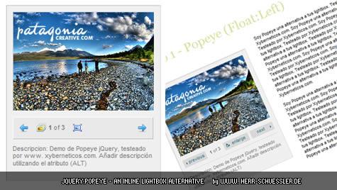 jQuery popeye – Caixas lightbox, para ampliar conteúdo sem perder espaço ou montar galerias