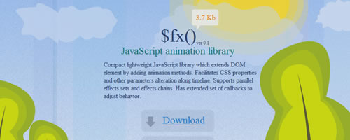$fx() – JavaScript animation library