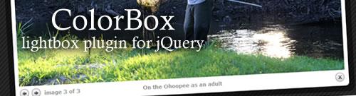 ColorBox – Plugin jQuery de 12kb para montar lightbox