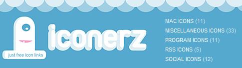 Iconerz – Galeria de Ícones gratuitos