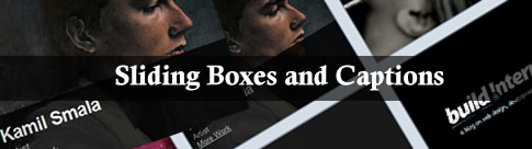 Sliding Boxes and Captions – Caixas com legendas deslizantes
