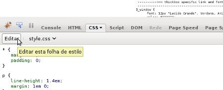 Como Editar o CSS de Seu Site ao Vivo com Firebug
