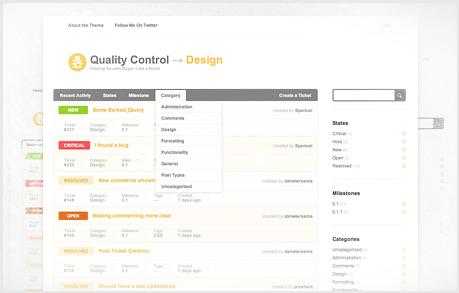 Quality Controle – Theme WP para Tickets (consultas, suporte)