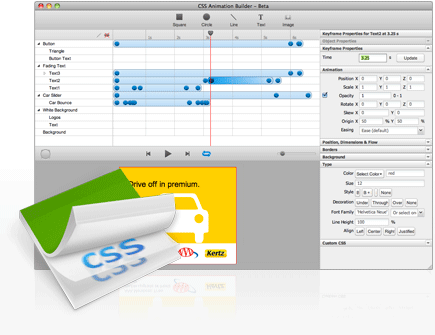 Crea impresionantes animaciones en CSS3 con Sencha Animator