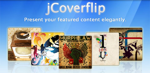 jCoverflip – Customizable jQuery Plugin CoverFlow