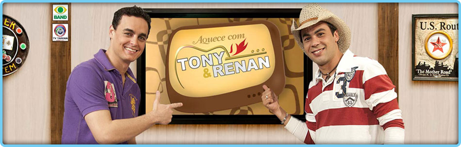 Site Oficial Tony & Renan – WordPress