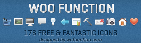 WooFunction – Fantástico pack com 178 ícones