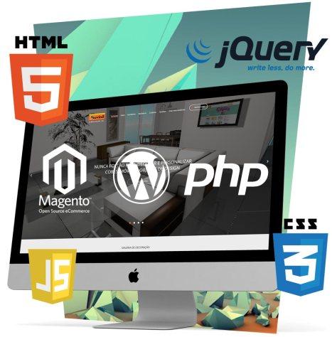 Desenvolvimento web e programação web.